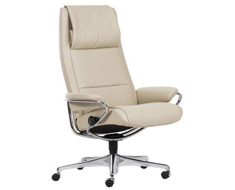 Stressless Paris High Back Office Desk Recliner Chair by Ekornes