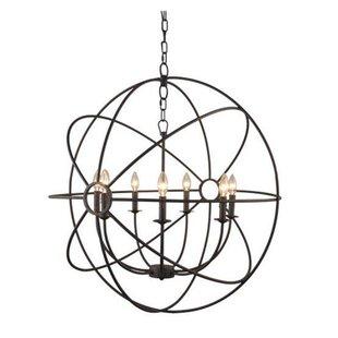 Ingrid Orb 8-Light Globe Chandelier