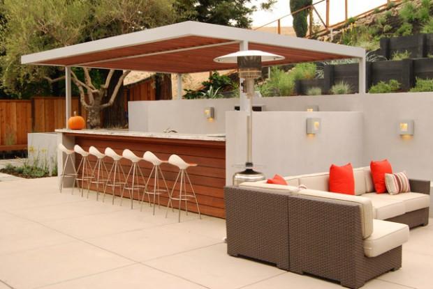 Creative Outdoor Bars: 17 Amazing Deck Design Ideas