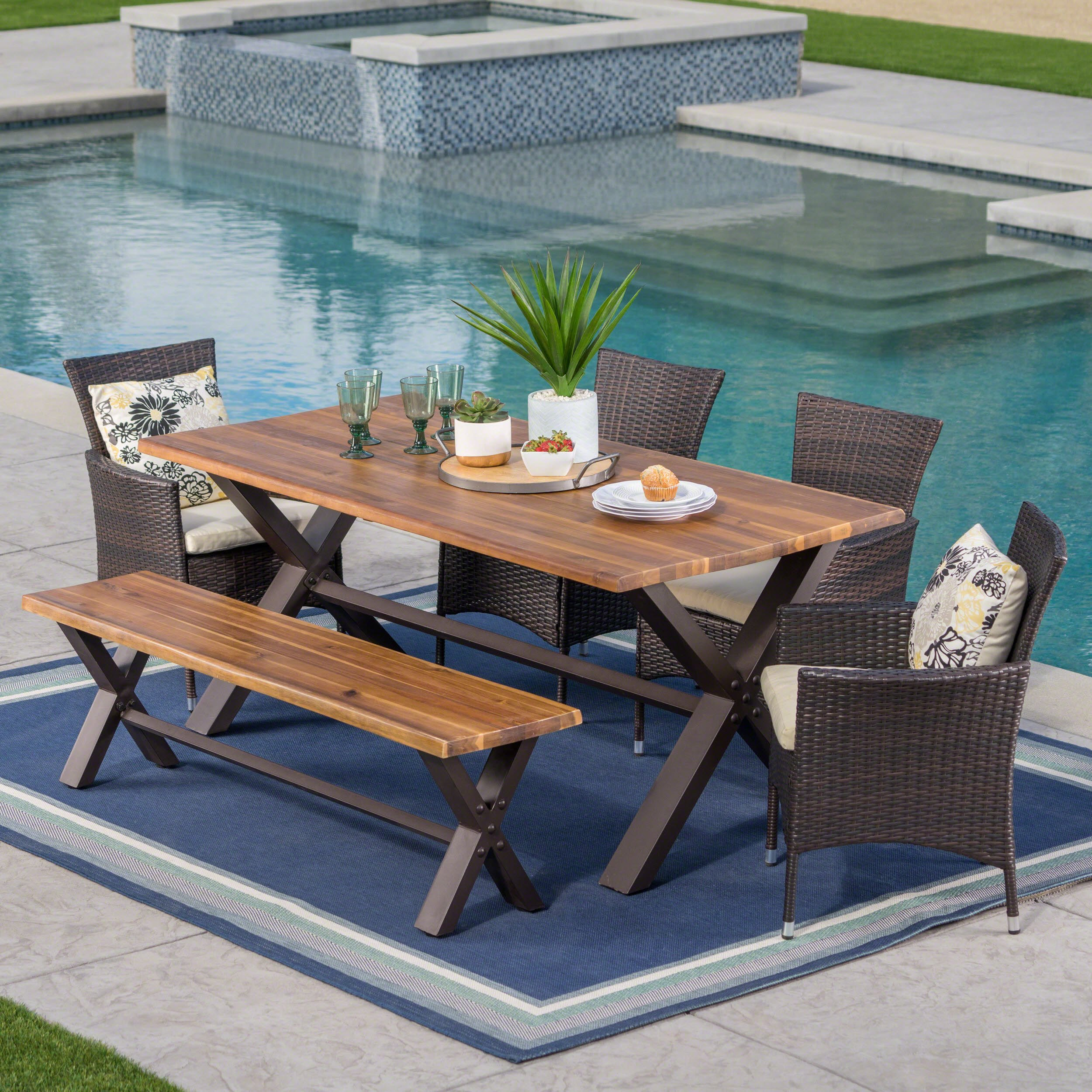 Buy Outdoor Dining Sets Online at Overstock | Our Best Patio Furniture Deals