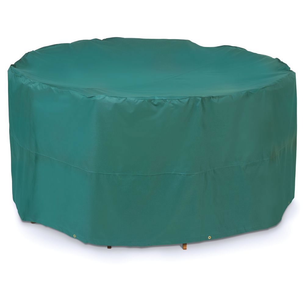 The Better Outdoor Furniture Covers (Round Table and Chairs Cover) -  Hammacher Schlemmer