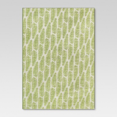 Outdoor Rug - Ferns Green - Threshold™