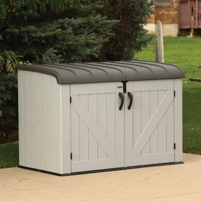 Lifetime Horizontal Storage Box, Gray