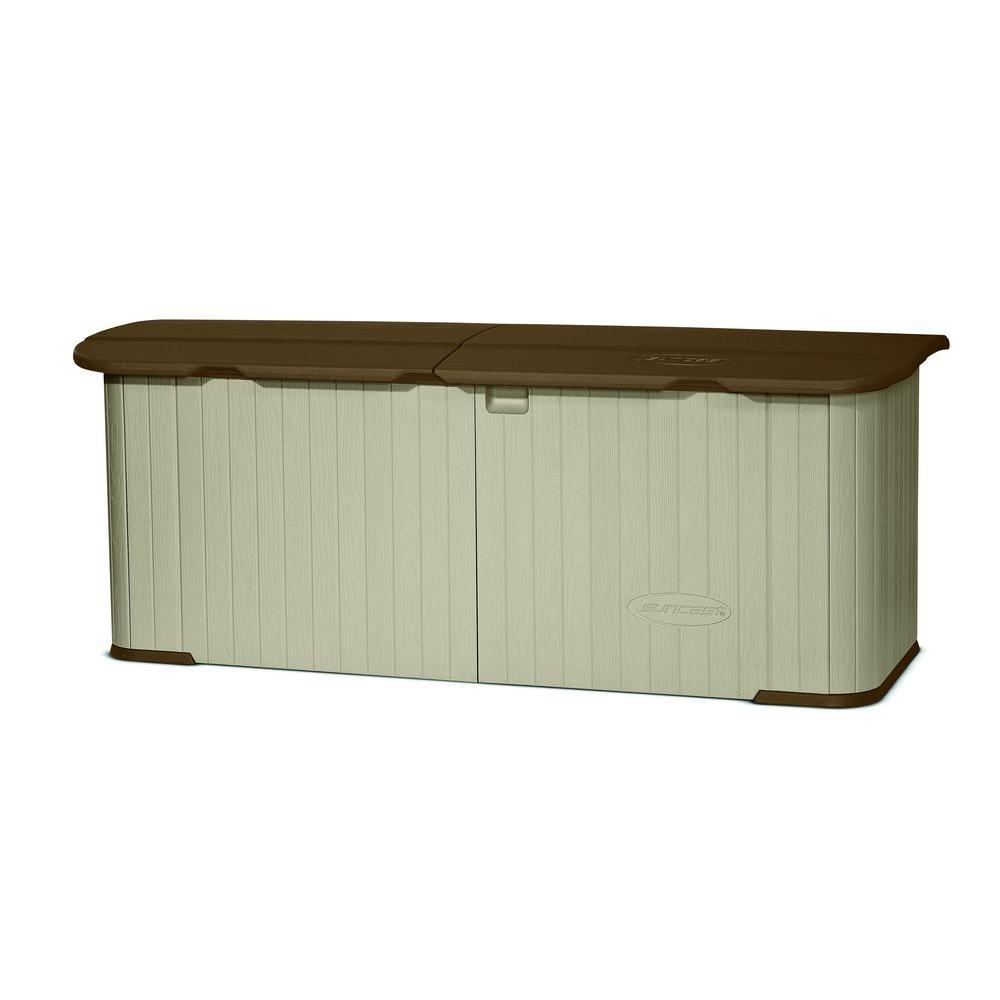 Resin Split Lid Storage Shed