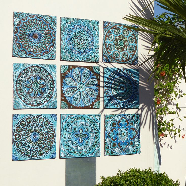 cool outdoor wall decor garden decor outdoor wall art made from ceramic set  of ntqhcom garden