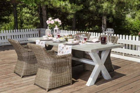 Buying outdoor furniture? A guide to fabrics and materials that will last  past Labor Day.