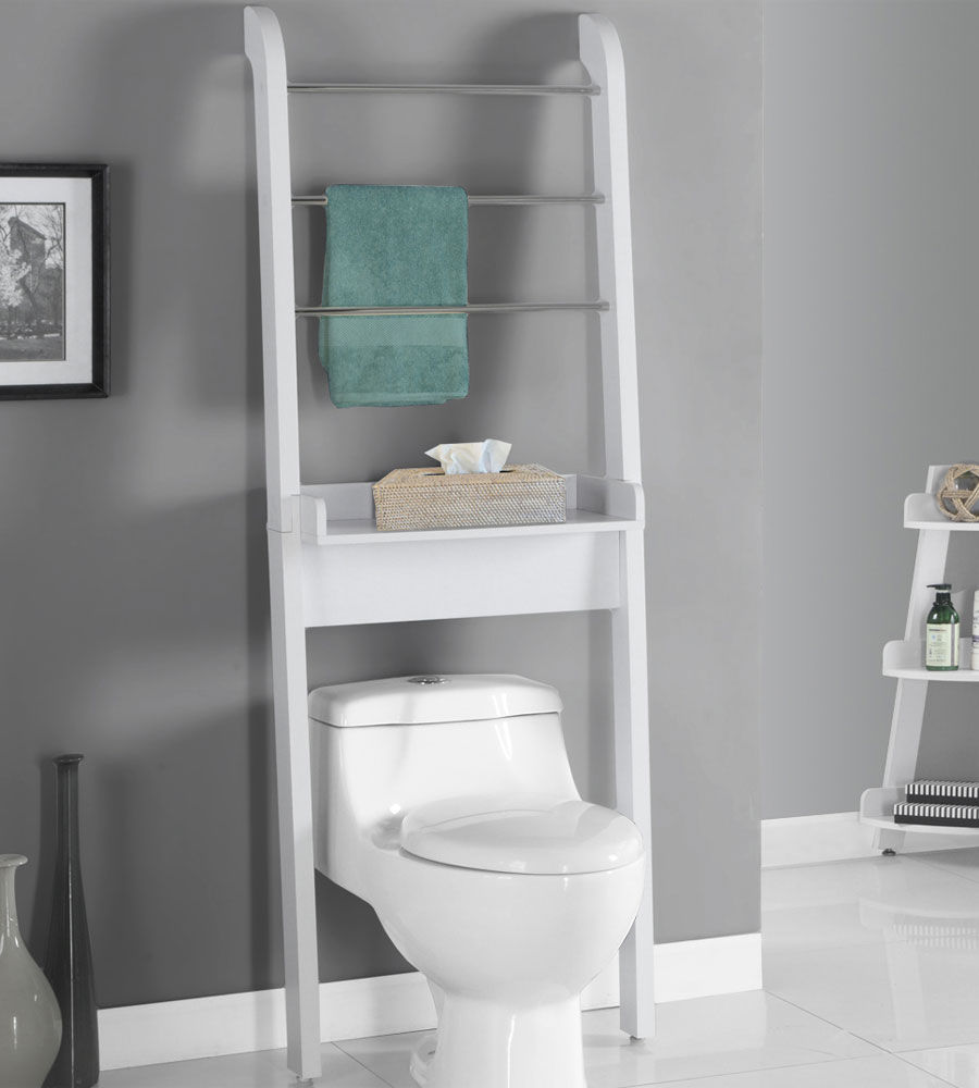 Over the Toilet Storage Unit Image