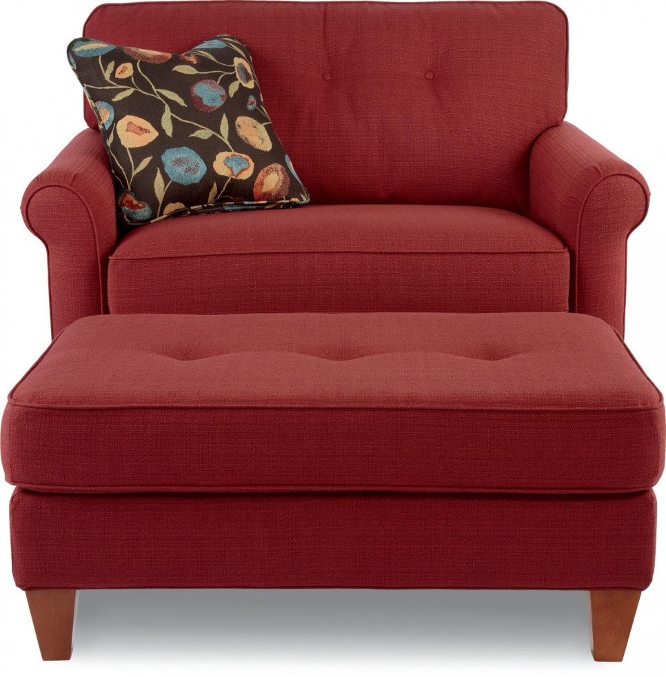 Red Oversized Living Room Chair