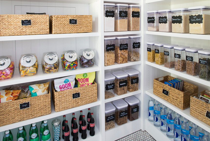 5 Steps to An Organized Pantry with Neat Method and The Container Store