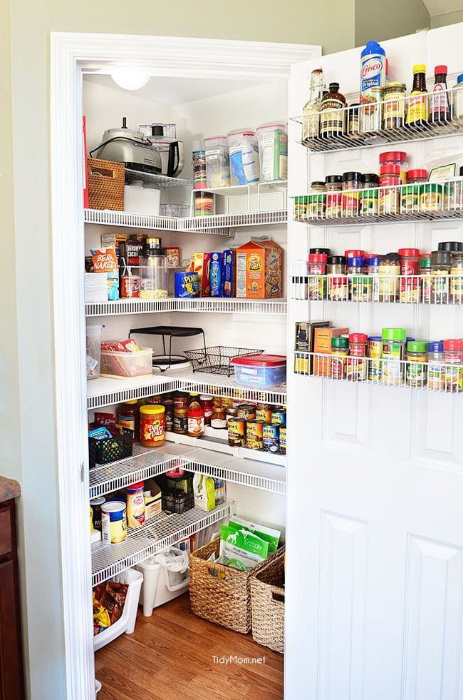 Real Life Pantry Organization- have an organized and completely functional  space without spending a fortune