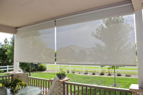 Oasis® 2600 Patio Shades | Insolroll