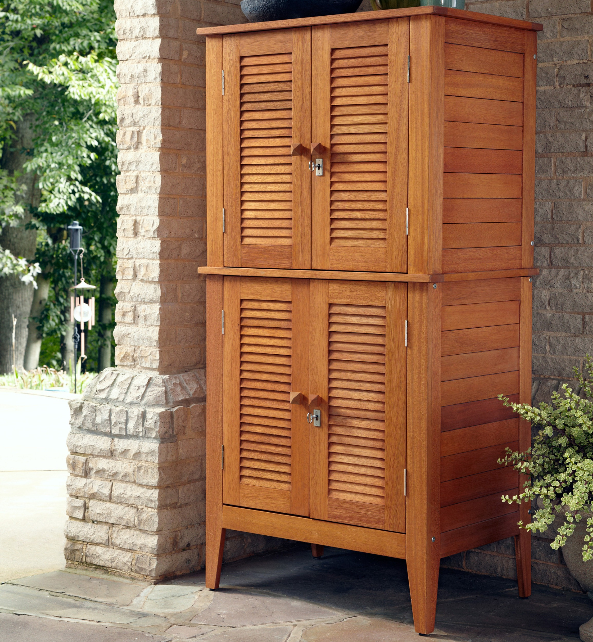 Home Styles Eco-friendly Cabinet with Four Door