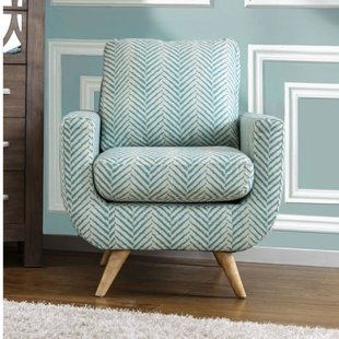 Patterned Armchair