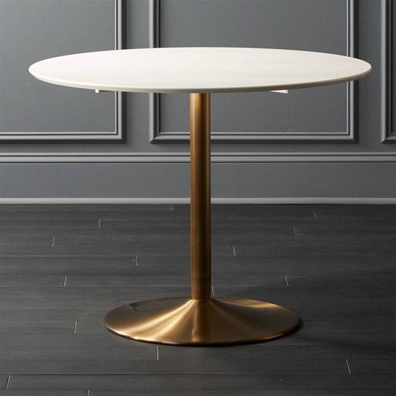 Odyssey Brass Dining Table