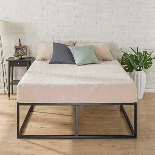 Zinus 18 Inch Platforma Bed Frame / Mattress Foundation / Boxspring  Optional / Wood slat support