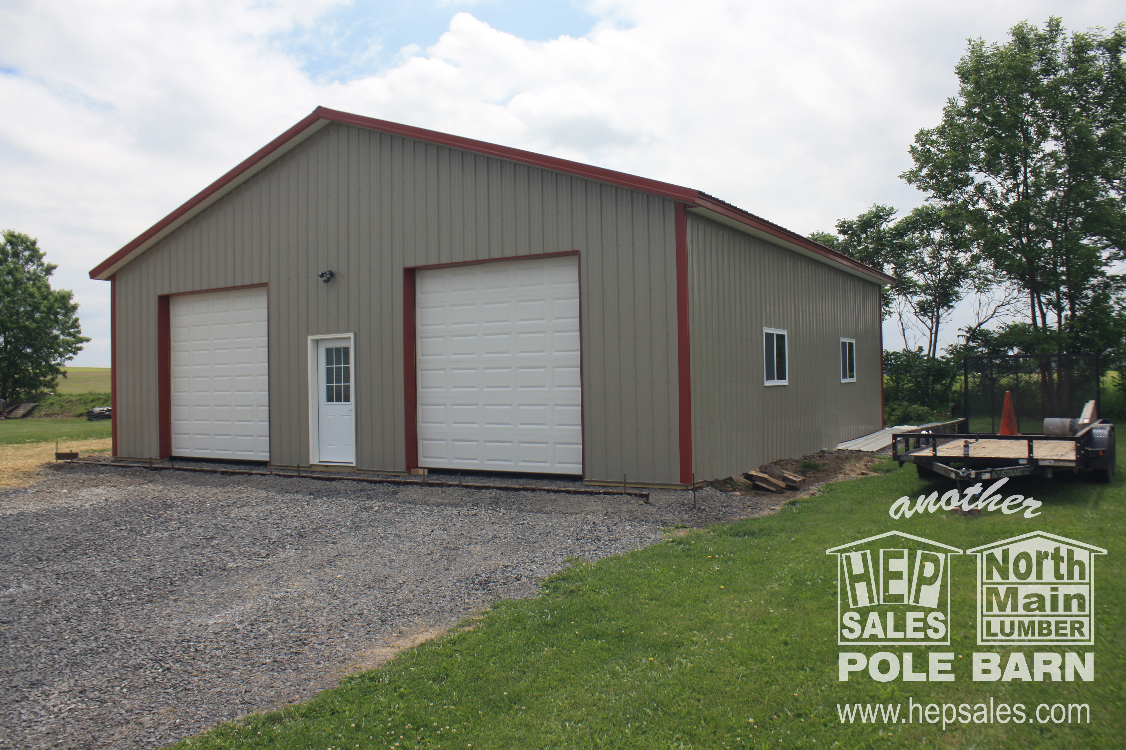 Thinking a new building would be ideal? A pole barn-type building is the  most cost-effective, easiest expansion you can make.