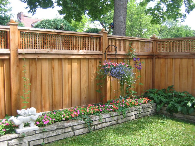 27 Unique Privacy Fence Ideas You May Consider