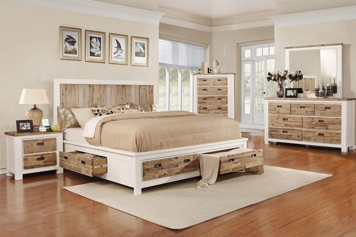 Western 5-Piece Queen Bedroom Set with 32