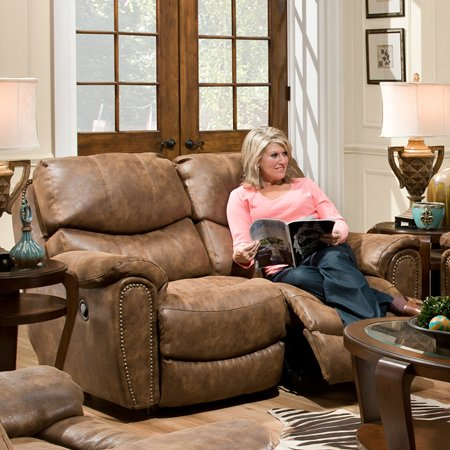 Carolina Motion Microfiber Reclining Loveseat