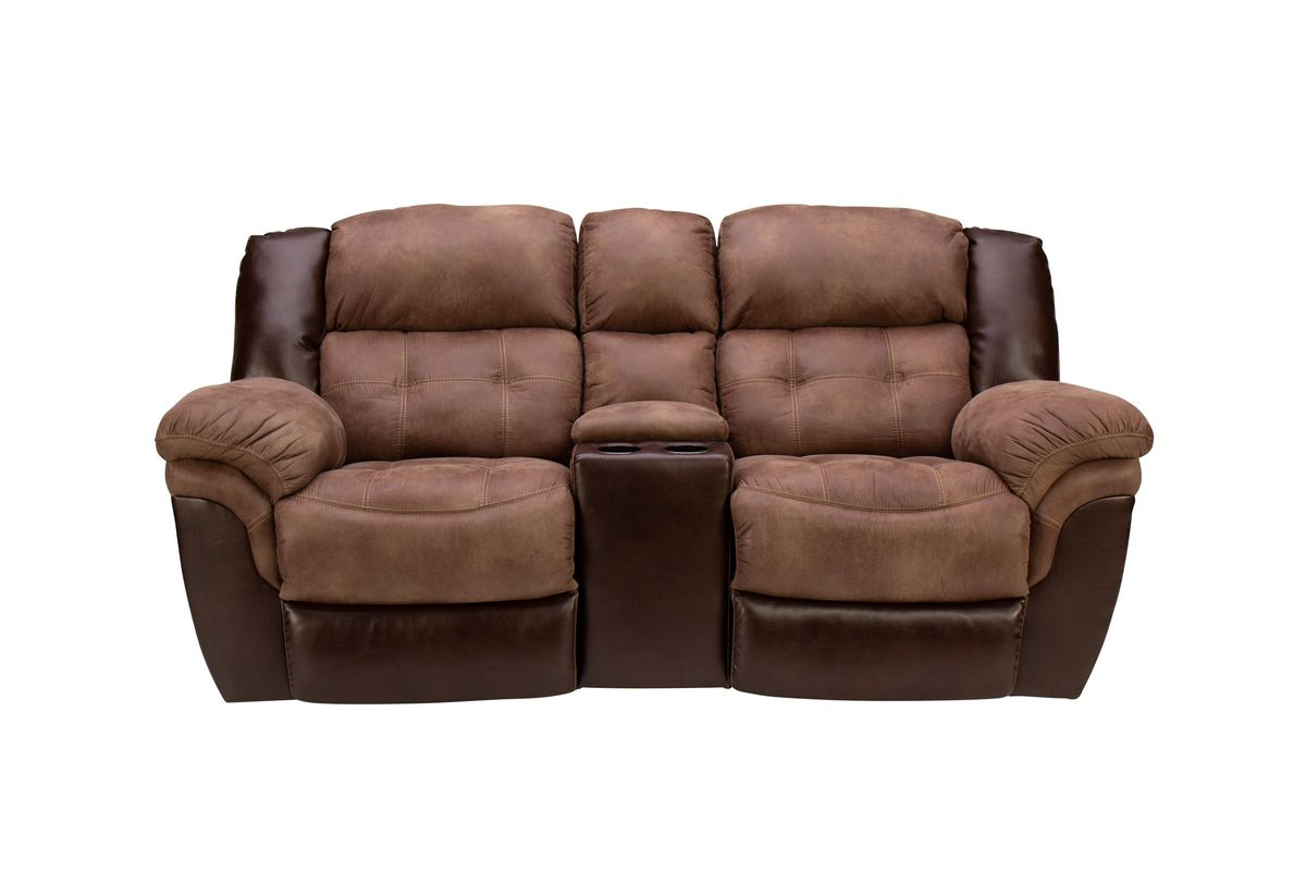 Fenway Microfiber Reclining Loveseat from Gardner-White Furniture