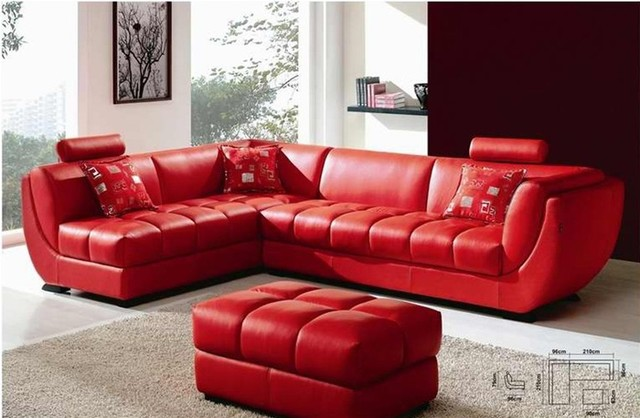 Red Leather Sectional Sofa – storiestrending.com
