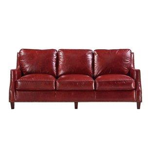 Claudio Leather Sofa
