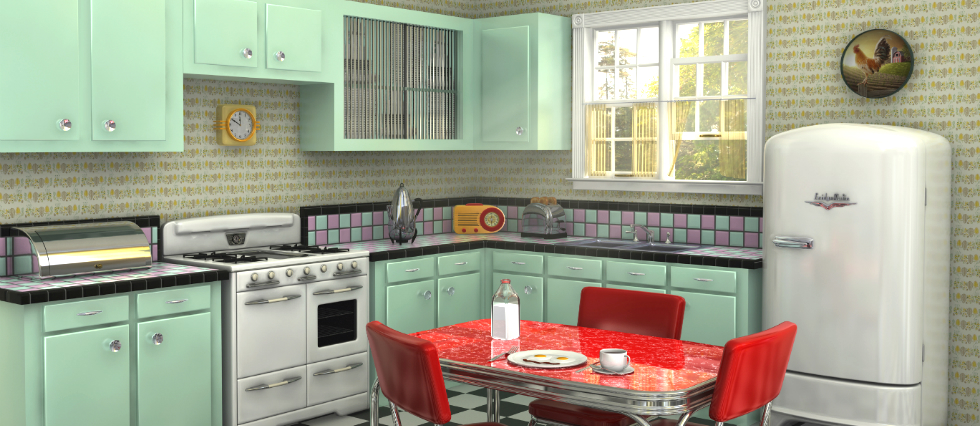 how to create a retro kitchen feature kitchen ideas Retro inspirations for  your kitchen ideas how