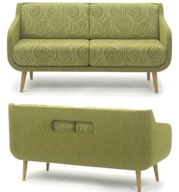 Inspired by the Retro Design of Hea Sofa by BG Norge - At Home with