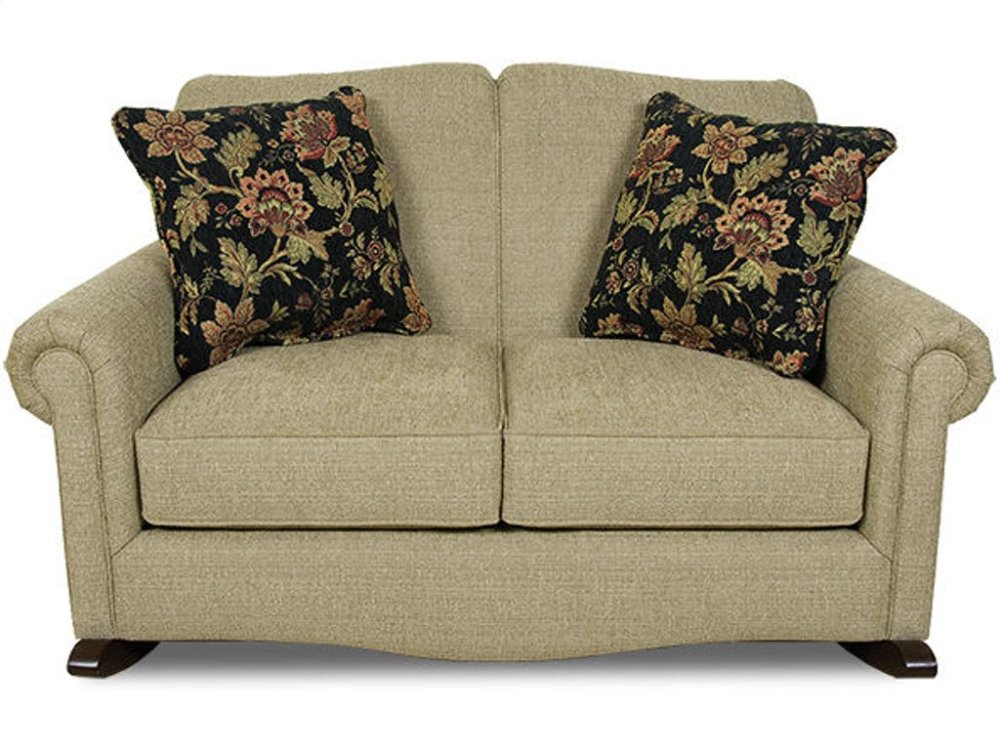 63099 in by England Furniture in Cheyenne, WY - Eliza Rocking Loveseat  630-99