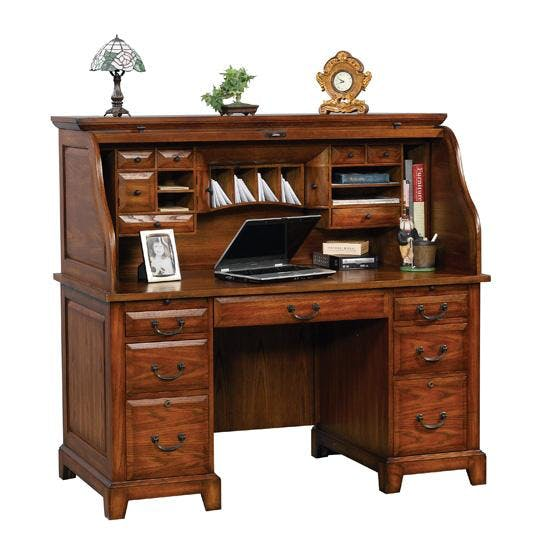 Winners Only 57 Inches Zahara Roll Top Desk GZ257R