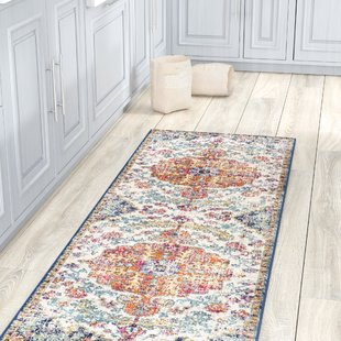 Hillsby Blue/Orange Area Rug