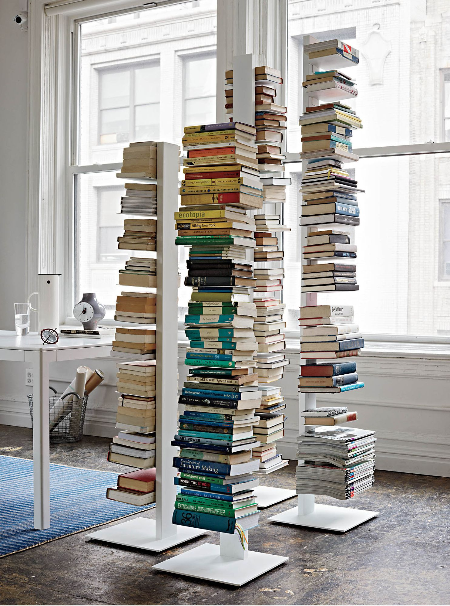 I have wanted one of these for as long as I can rememberSapien Bookcase  | Designed Bruno Rainaldi