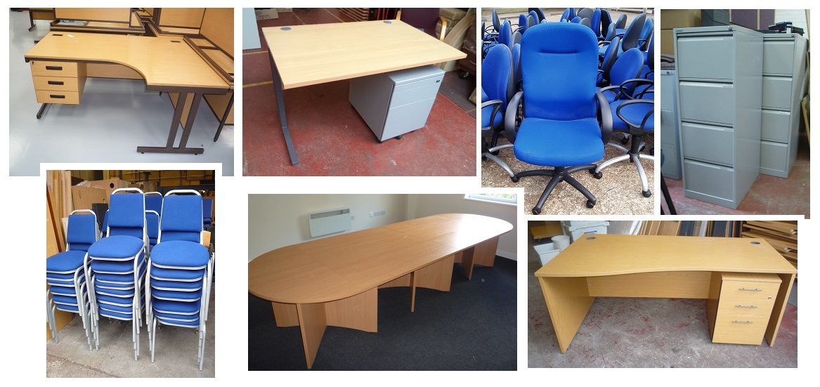 Used Office Furniture At Our Warehouse
