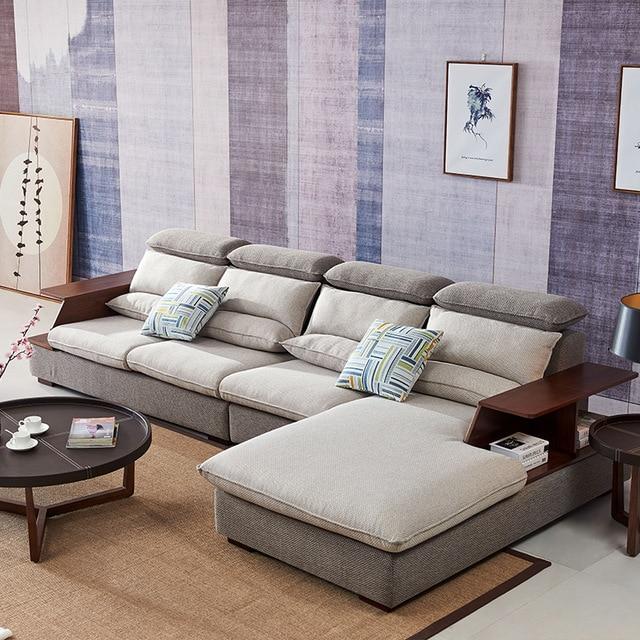 8812 Fabric sofa set living room sofa furniture corner sofa sets home furniture  sectional sofa modern L shaped with storage