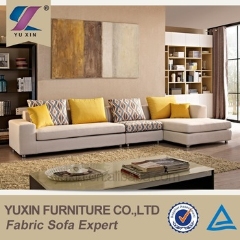 foshan shunde furniture living room corner sofa set designs and prices, sectional l shape sofa