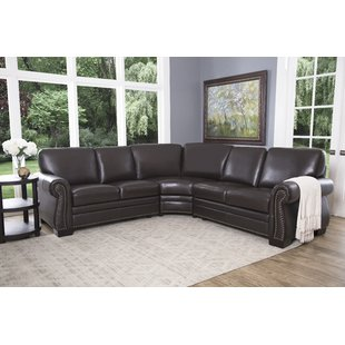 Barnabas Leather Sectional
