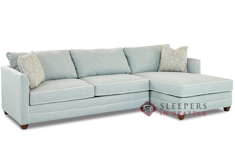 Savvy Valencia Compact Chaise Sectional Sleeper Sofa