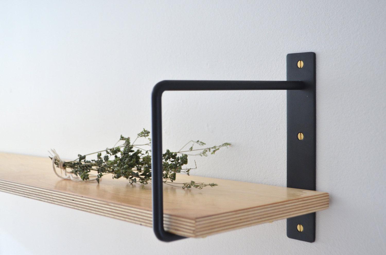 Sleek, Well-Priced Shelf Brackets, Handmade in Montreal