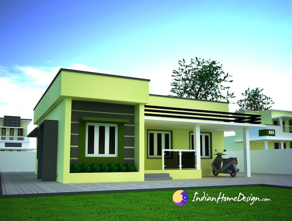 Small Single floor Simple Home Design by Niyas