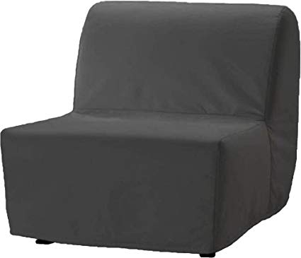 The Dense Cotton Lycksele Chair Bed Sofa Replacement is Custom Made for  Ikea Lycksele Single Sleeper