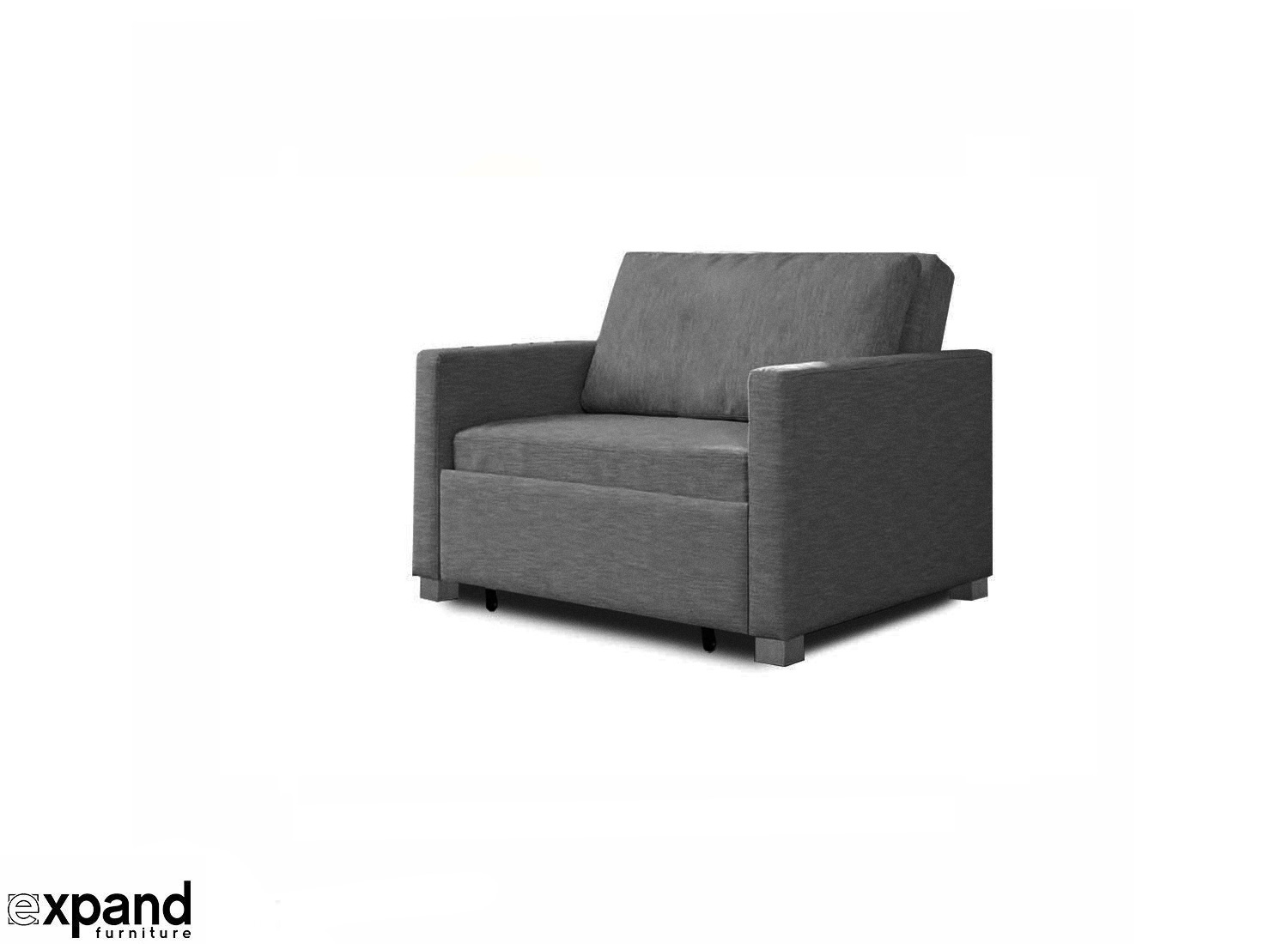 Single twin sofa bed with ottoman. prev