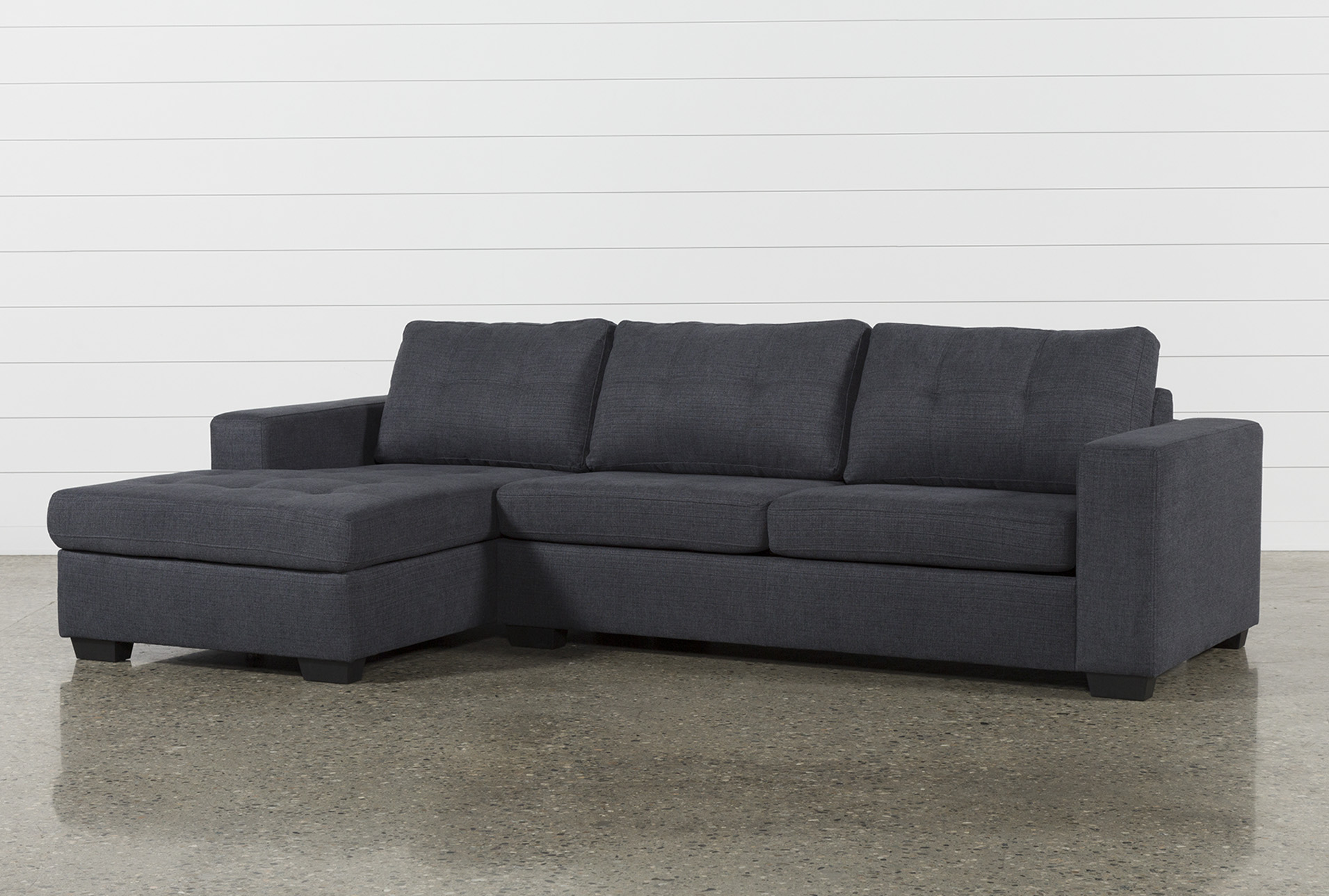 Remington Charcoal 2 Piece Sleeper Sectional W/Laf Storage Chaise (Qty: 1)  has been successfully added to your Cart.
