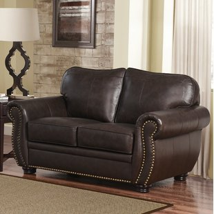 Hotchkiss Leather Loveseat