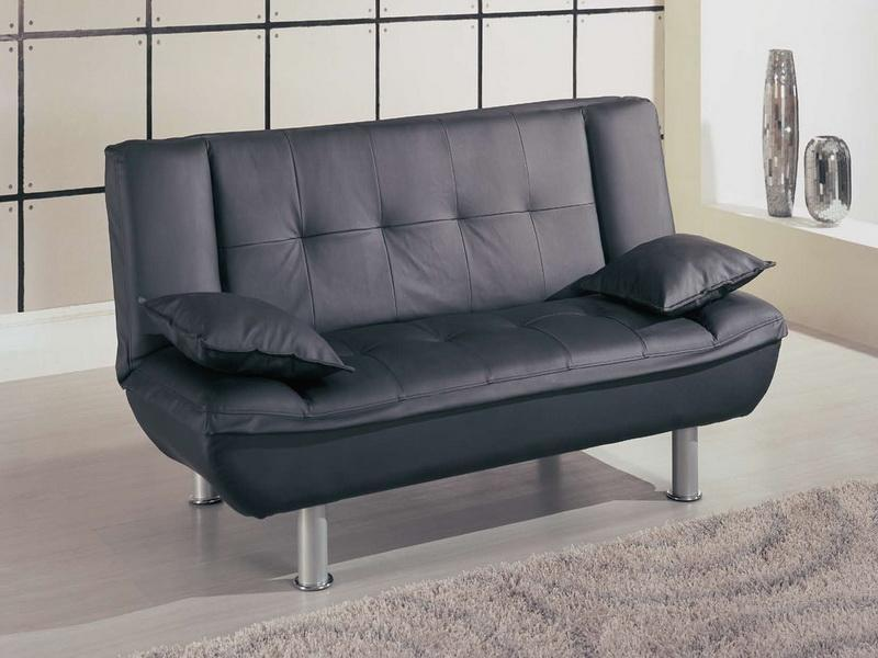 Modern leather loveseats for small spaces