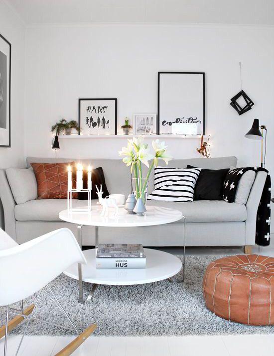 Design Ideas For A Small Living Room   My someday place   Small living room  design, Living room designs, Living room decor