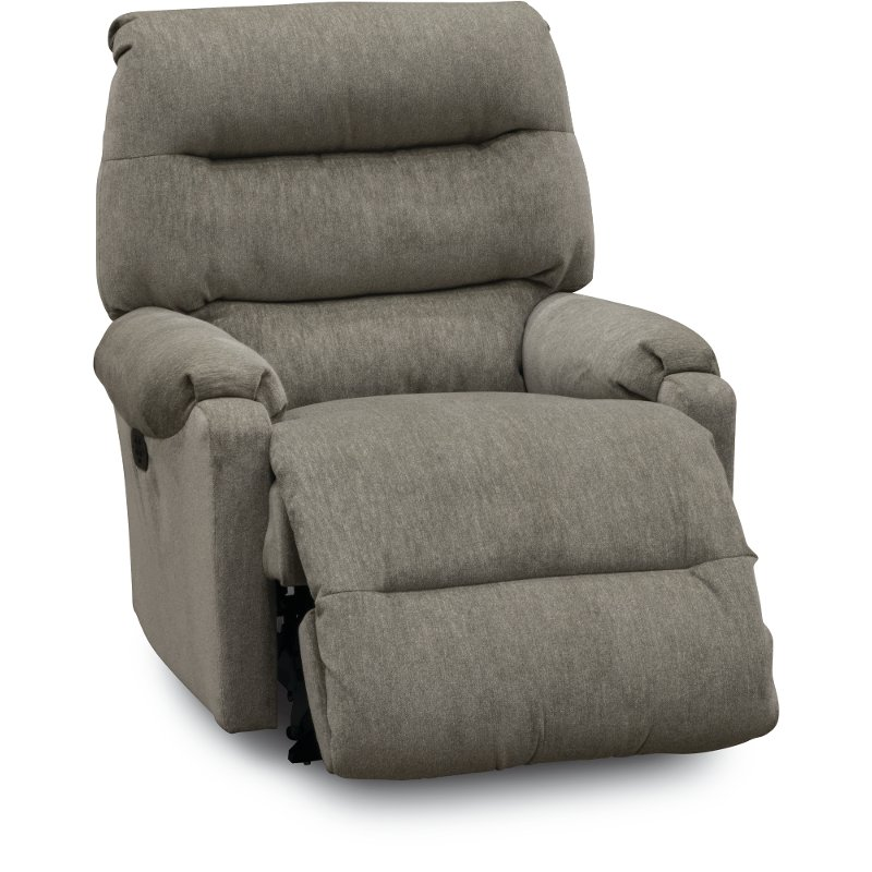 Gray Small Scale Power Rocker Recliner - Sedgefield | RC Willey Furniture  Store