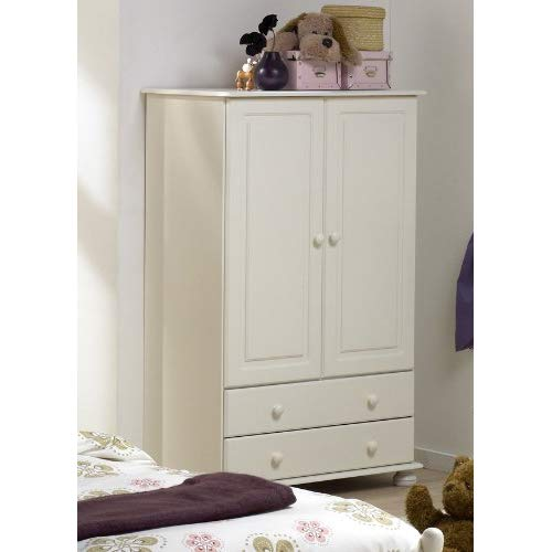 Richmond White Combi Wardrobe