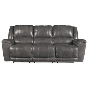 Waterloo Leather Reclining Sofa