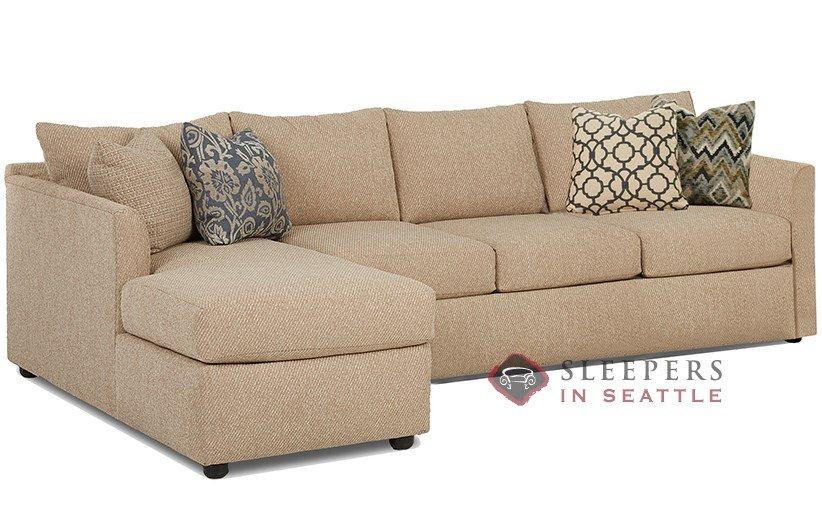 Savvy Aventura Chaise Sectional Sleeper (Queen)