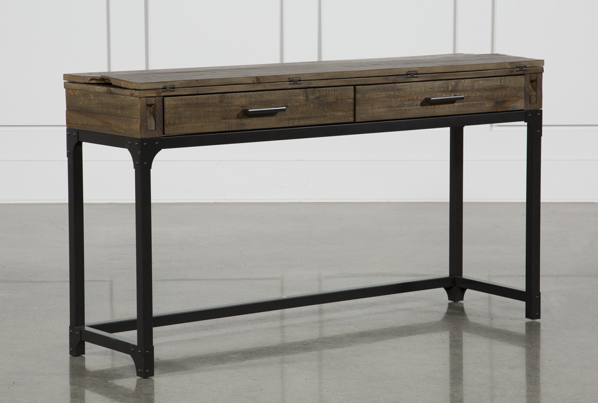 Foundry Flip-Top Sofa Table (Qty: 1) has been successfully added to your  Cart.